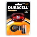 Фенер стоп за велосипед Duracell Bike lights B03