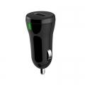 Универсално зарядно устройство Meliconi 12-24V 1A с 1 USB изход