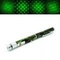 Камуфлажен Зелен лазер 500mW CLASS III   12 приставки за различн