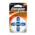 Батерия за слухов апарат Energizer 675, ZA675, 675A, PR44 1.4V
