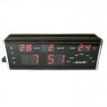 Часовник със светещи цифри JINNIU N-619 на 220V показва вътрешна