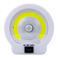 Лампа с датчик за движение на батерии с мощност 3W COB магнит и