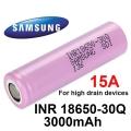 Акумулаторна батерия SAMSUNG INR18650-30Q 3000 mAh 3.7V Li-Ion