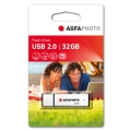 AGFA PHOTO USB Флаш памет USB 2.0 32GB Скорост четене-запис MB/s