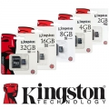 Kingston Memory картa microSD 4GB
