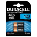Батерия DURACELL HIGH POWER LITHIUM CR123A, DL123A, 123, EL123,