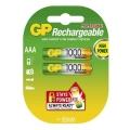 Батерии GP PROFESIONAL AAA 1000mAh 1.2V GP Rechargeable HIGH POW