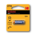 Батерия KODAK MAX SUPER ALKALINE 27A V27A, 27, A27 12V Алкална б