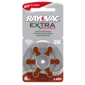 Батерия Rayovac Extra Advanced 312, PR41, PR312, ZA321, DA312, 1