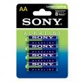 Батерия  Sony Alkaline LR6, AA 1.5V
