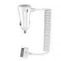 Зарядно устройство Meliconi 12-24V 2.1A + USB изход с 1.2м недел