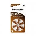 Батерии за слухови апарати Panasonic PR312, 312, PR41
