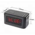 Часовник с радио, аларма,  Bluetooth колана USB MP3 AUX Micro SD