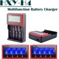 Универсално зарядно устройство интелигентно за 4 броя батерии Li
