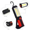 Акумулаторна работна лампа фенер HG-WL018 с аварийни червени све