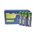 Цинкови батерии Toply Green AAА, R03 1.5V 40 броя батерии