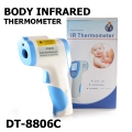 IR безконтактен термометър за тяло с обхват 32.0 до 43.0ºC и точ