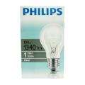 PHILIPS 100W E27  Стандартна прозрачна лампа PHILIPS 100W E27