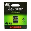 TOSHIBA SD 4GB HC CLASS 4
