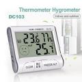 Tермометър и влагометър DC103 за външна и вътрешна температура с