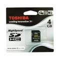 Toshiba SDHC 4GB