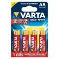Батерия VARTA MAX TECH LR6, AA