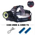 X-BALOG BL-V27B-T6 Мощен и качествен фенер за глава С COB CREE L