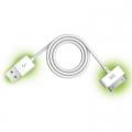 Кабел USB към жак 30PIN за телефон Iphone 4/4S и таблет Ipad 2/3