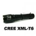 Фенер с CREE XM-L T6 с регулиране на фокуса и различни режими на