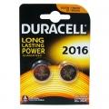 Батерия Duracell Lithium DL2016, CR2016 3V 2 броя в блистер