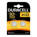Батерия DURACELL DL/CR2032, CR2032, BR2032 3V LITHIUM + 50% MORE
