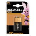Батерия Duracell Power Plus 9V 6LR61, MN1604 E-block UP TO 50% M