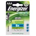 Батерии Energizer Extreme PRE-CHARGED 800mAh ААА, HR03 NiMH 1.2