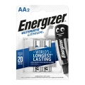батерия Energizer Ultimate Lithium AA LR6 L91 1.5V 3000 mAh