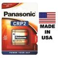 Батерия PANASONIC CR-P2, CRP2, DL223 6V Произведени в САЩ / Made