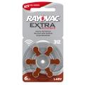 Батерия Rayovac Extra Advanced 312, PR41, PR312, ZA312, DA312, 1