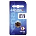 Батерия RENATA CR1616, DL1616, BR1616, 1616 3V Lithium
