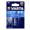 Батерия VARTA LONGLIFE POWER 6LR61 9V 580 mAh