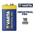Батерия Varta PRO Industrial Alkaline 6LR61, 9V, 4022