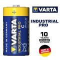 Батерия Varta Industrial PRO Alkaline LR14, C, MN1400, BABY, 401