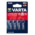 Батерия VARTA Longlife Max Power LR03 , AAA , MN2400 1270 mAh 1.