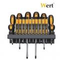 Комплект отвертки 18 броя WERT - W2257