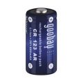 Акумулаторна батерия Goobay CR123AR, Li-Ion, 3.0V, 600mAh