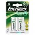 Акумулаторни батерии Energizer Power Plus, C, R14, 2500mAh