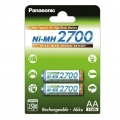 Акумулаторни батерии Panasonic 2700mAh, АА, R6, NiMH