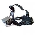 Акумулаторен челник, фенер за глава CREE XM-L 3-Mode