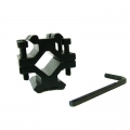 Стойка за монтиране на различни оптически прибори върху оръжия