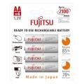Акумулаторни батерии FUJITSU 2000mAh, AA WHITE Предварително зар