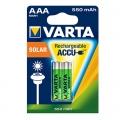 Акумулаторни батерии за соларни лампи VARTA Accu Solar AAA 550 m