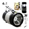 Акумулаторна Къмпинг лампа и фенер със соларен панел и USB изход